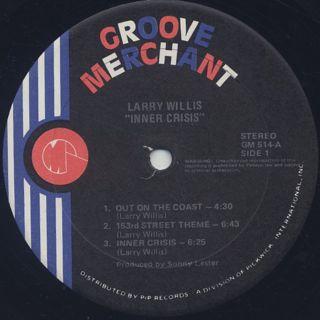 Larry Willis / Inner Crisis label
