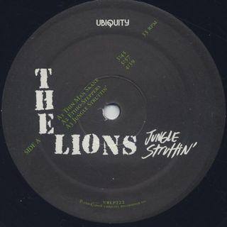 Lions / Jungle Struttin' label