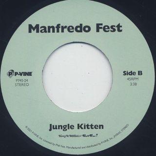 Manfredo Fest / Who Need It label