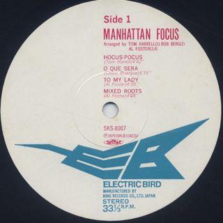 Manhattan Focus / S.T. label