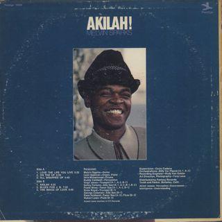 Melvin Sparks / Akilah back