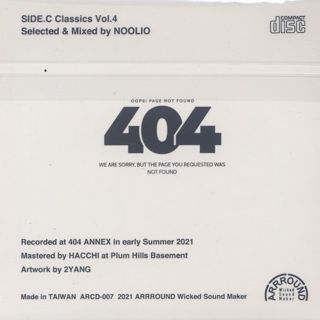 Noolio / SideC Classics vol.4 back