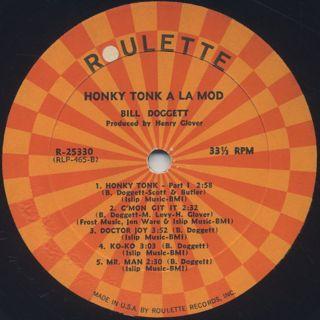 Bill Doggett / Honky Tonk A La Mod label