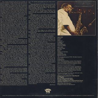Gene Ammons / Red Top back
