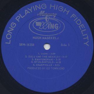 Hugh Masekela / S.T. label