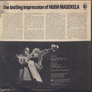Hugh Masekela / The Lasting Impression back