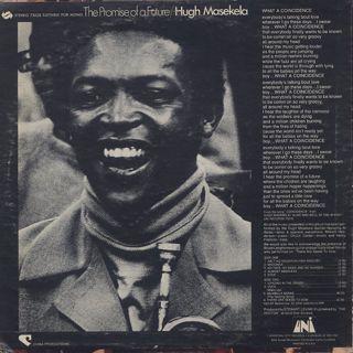 Hugh Masekela / The Promise Of A Future back