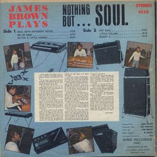 James Brown & The Famous Flames / Nothing But Soul back