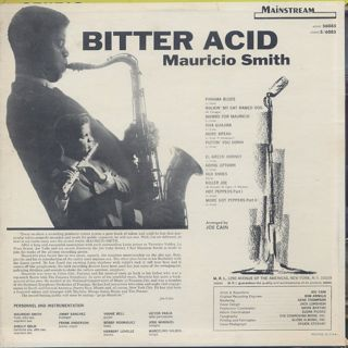 Mauricio Smith / Bitter Acid back