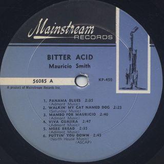 Mauricio Smith / Bitter Acid label