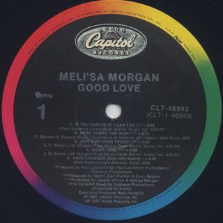 Meli'sa Morgan / Good Love label