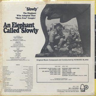 O.S.T.(Howard Blake) / An Elephant Called Slowly back