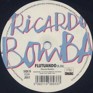 Ricardo Bomba / Eu Sei c/w Flutuando back
